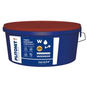 Гидроизоляция Plitonit ГидроЭласт 4 кг