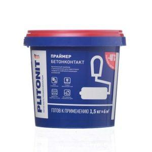 Грунт Бетонконтакт Plitonit 1,5 кг