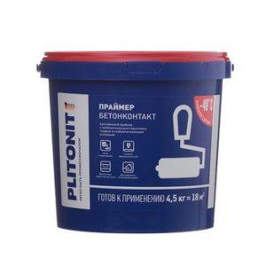 Грунт Бетонконтакт Plitonit 4,5 кг