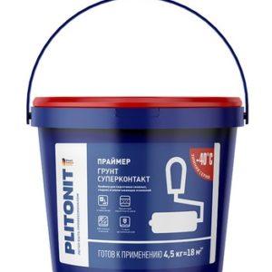 Грунт PLITONIT Супер Контакт 4,5 кг