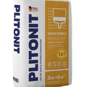 Шпаклевка полимерная Plitonit ФинишСлой для сухих помещений 20 кг