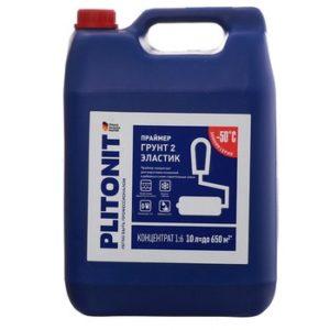 Грунт Plitonit 2 Эластик концентрат 10 л