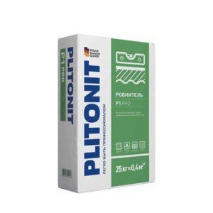 Ровнитель (стяжка пола) первичный Plitonit Р1 PRO 25 кг