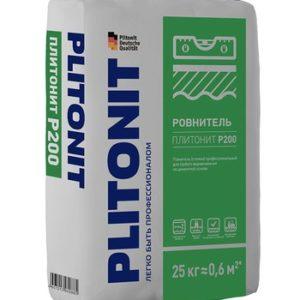 Ровнитель (стяжка пола) первичный Plitonit Р200 25 кг