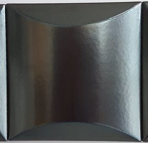 Плитка настенная (декор) Ibero «Materika» Decor Bump Steel (15Х15 см)