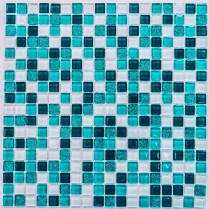Стеклянная мозаика Bonaparte Glossy (сетка 30Х30Х0.4 см)