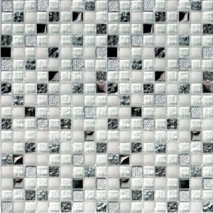 Стеклянная мозаика Bonaparte Metallica (сетка 30Х30Х0.8 см)