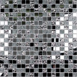 Стеклянная мозаика Bonaparte Mirror (сетка 30Х30Х0.4 см)