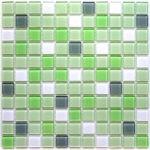 Стеклянная мозаика Bonaparte Soft mix (сетка 30Х30Х0.4 см)