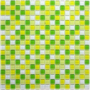 Стеклянная мозаика Bonaparte Tropic (сетка 30Х30Х0.4 см)