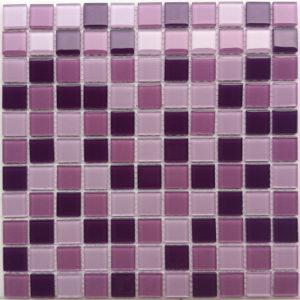 Стеклянная мозаика Bonaparte Vialet (сетка 30Х30Х0.4 см)