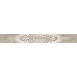 Бордюр AZORI «Ascoli» grey classico (63Х7.5Х0.9 см)
