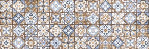 Плитка настенная (декор) CERSANIT «Atlas» рельеф многоцветный ATS451D (59.8Х19.8Х0.9 см)