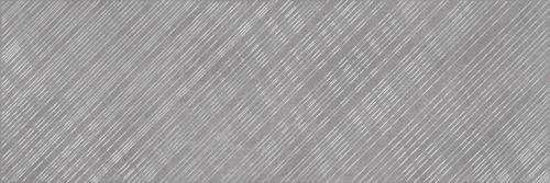 Плитка настенная (декор) CERSANIT «Apeks» вставка серый линии A AS2U091DT (75Х25 см)