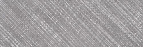 Плитка настенная (декор) CERSANIT «Apeks» вставка серый линии B AS2U092DT (75Х25 см)