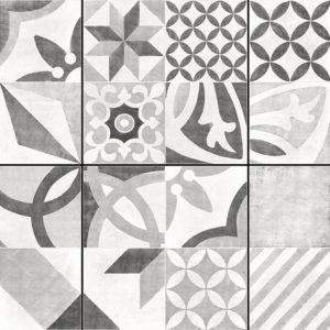 Керамогранит напольный CERSANIT «Apeks» серый декор AS4R092D (42Х42 см)