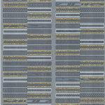Плитка настенная (декор) AZORI «Aura» Atlantic Geometria Decor (63Х31.5Х0.9 см)