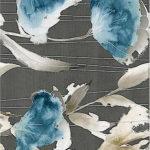 Плитка настенная (декор) AZORI «Aura» Grafite Floris Decor (63Х31.5Х0.9 см)