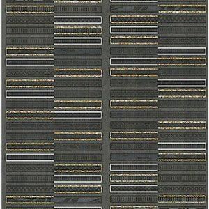 Плитка настенная (декор) AZORI «Aura» Grafite Geometria Decor (63Х31.5Х0.9 см)