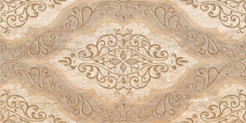 Плитка настенная (декор) AZORI «Ascoli» beige classico (63Х31.5Х0.9 см)