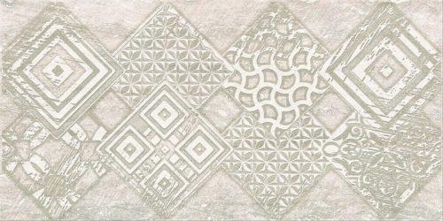 Плитка настенная (декор) AZORI «Ascoli» grey geometria (63Х31.5Х0.9 см)