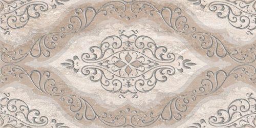 Плитка настенная (декор) AZORI «Ascoli» grey classico (63Х31.5Х0.9 см)