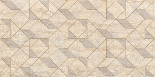 Плитка настенная (декор) AZORI «Ascoli» Beige Diamond (63Х31.5Х0.9 см)