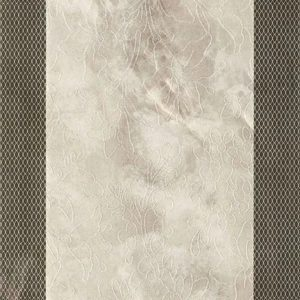 Плитка настенная (декор) Serra «Incanto 572» wall floral decor bone glossy (90Х30Х1.2 см)