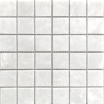 "Каменная мозаика Starmosaic ""Wild Stone"" WHITE POLISHED (сетка 30.5Х30.5Х0.4 см)"