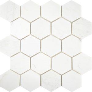 "Каменная мозаика Starmosaic ""Wild Stone"" HEXAGON VMwP 64x74 (сетка 30.5Х30.5Х0.8 см)"