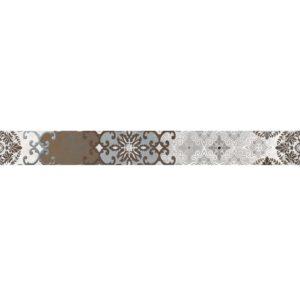 Бордюр CERSANIT «Alrami» белый AM1J451 (44Х5Х0.8 см)