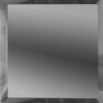 Квадратная зеркальная графитовая плитка с фацетом 10 мм ДСТ «КЗГ1-10» (10Х10 см)