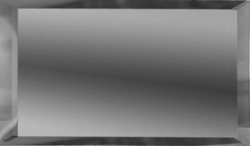 Прямоугольная зеркальная графитовая плитка с фацетом 10 мм ДСТ «ПЗГ1-75» (15Х7.5 см)