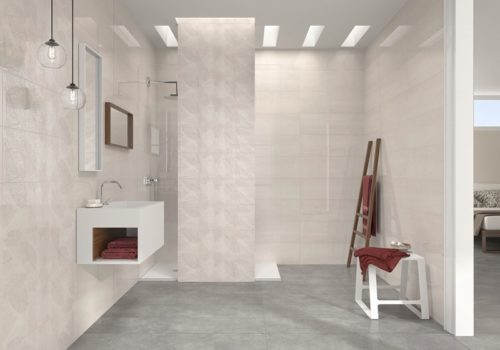 Плитка настенная Pamesa «T4U Placage/White» Placage Cenere (25Х75 см)