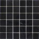 "Каменная мозаика Starmosaic ""Wild Stone"" BLACK POLISHED (сетка 30.5Х30.5Х0.4 см)"