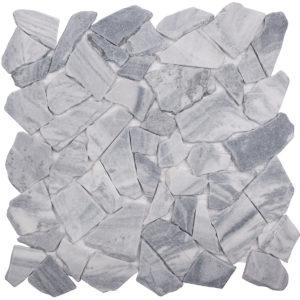 """Каменная мозаика Starmosaic """"Wild Stone"""" SPLIT GREY MATT (сетка 30.5Х30.5Х0.7 см)"""