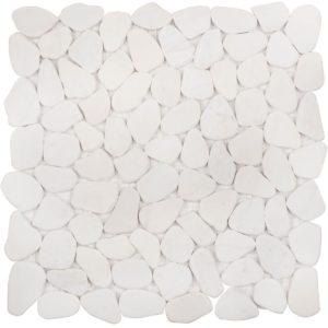 """Каменная мозаика Starmosaic """"Wild Stone"""" PEBLE VMw TUMBLED (сетка 30Х30Х0.8 см)"""