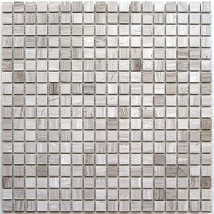 Мозаика из натурального камня Bonaparte Dunes-15 slim (POL) (сетка 30.5Х30.5Х0.7 см)