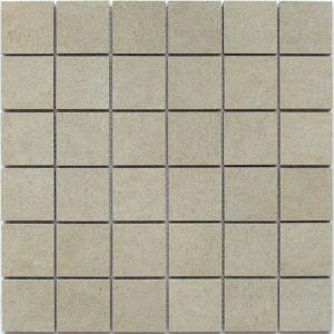 Керамическая мозаика Bonaparte EDMA White Mosaic (Matt) (керамогранит) (сетка 30Х30Х0.94 см)