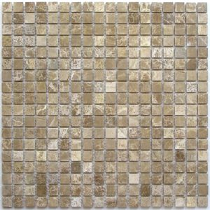 Мозаика из натурального камня Bonaparte Madrid-15 slim (POL) (сетка 30.5Х30.5Х0.4 см)