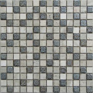 Мозаика из натурального камня Bonaparte Milan-1 (сетка 30.5Х30.5Х0.7 см)