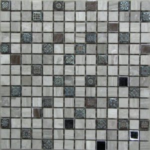 Мозаика из натурального камня Bonaparte Milan-2 (сетка 30.5Х30.5Х0.7 см)