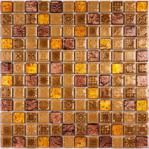 Керамическая мозаика Bonaparte Morocco Gold (сетка 30X30Х0.8 см)