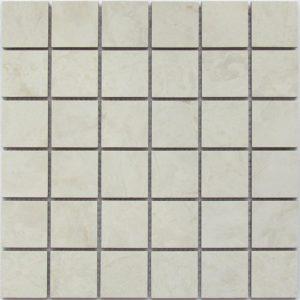 Керамическая мозаика Bonaparte Perf Ivory (керамогранит) (сетка 30X30Х1 см)