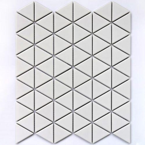 Керамическая мозаика Bonaparte Reno White matt (сетка 25.2X29.1Х0.6 см)