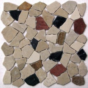 Мозаика из натурального камня Bonaparte Rim II (сетка 30.5Х30.5Х0.7 см)