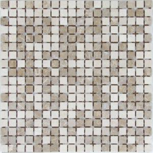 Мозаика из натурального камня Bonaparte Sorento-15 slim (Matt) (сетка 30.5Х30.5Х0.4 см)