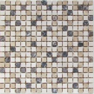 Мозаика из натурального камня Bonaparte Turin-15 slim (Matt) (сетка 30.5Х30.5Х0.4 см)