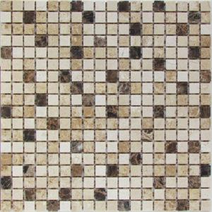 Мозаика из натурального камня Bonaparte Turin-15 slim (POL) (сетка 30.5Х30.5Х0.4 см)