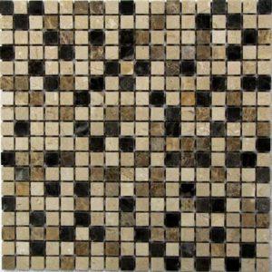 Мозаика из натурального камня Bonaparte Turin 15 (сетка 30.5Х30.5Х0.7 см)